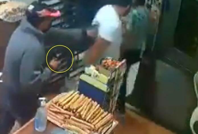 Detienen y liberan a ladrón que robó panadería con arma falsa
