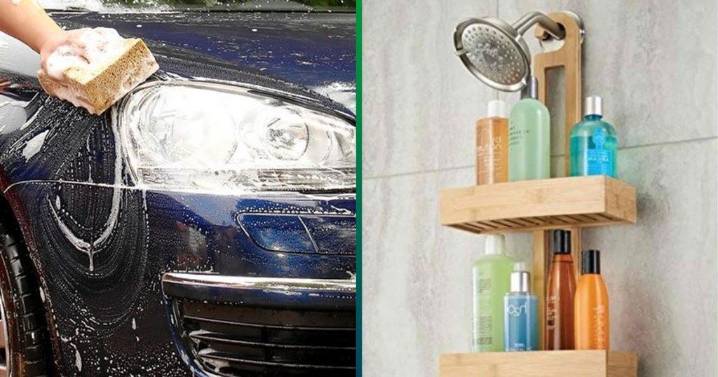 Hombre que usa 15 productos para su carro se queja de que su esposa use 5 champús
