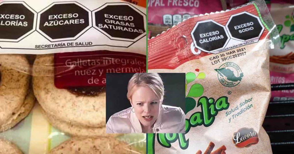 Productos sanos nuevo etiquetado