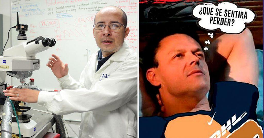 Investigadores de la UNAM buscan intensamente qué significa perder