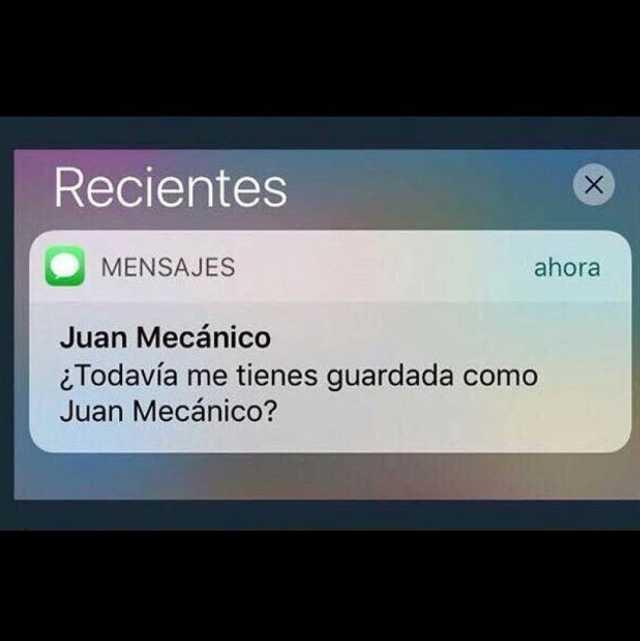 juan mecánico mensajes