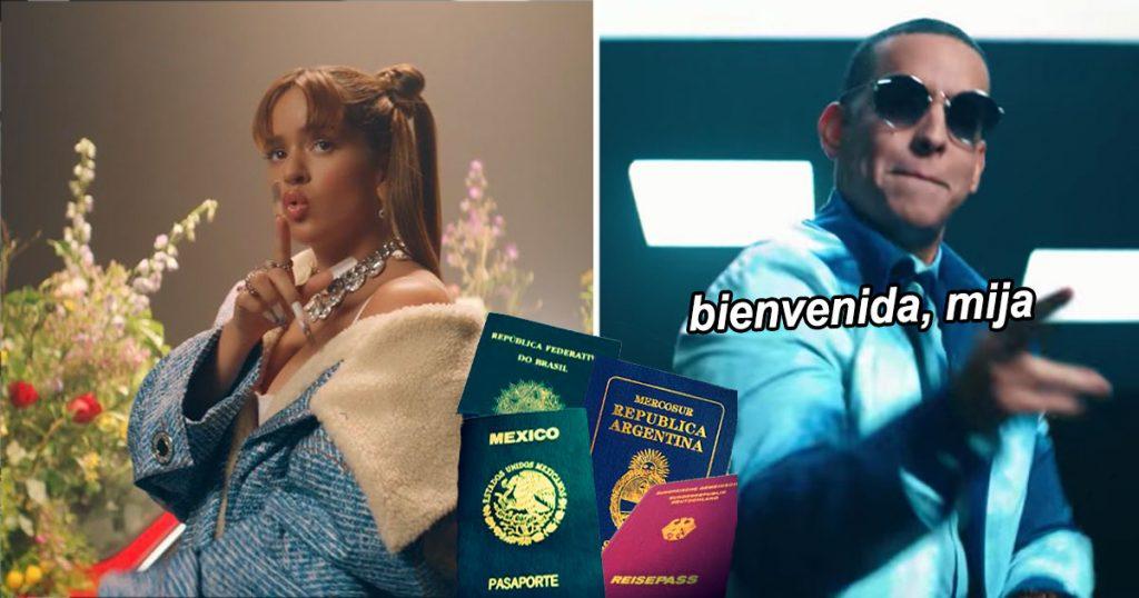 Daddy Yankee le otorga nacionalidad latinoamericana a Rosalía tras colaboración