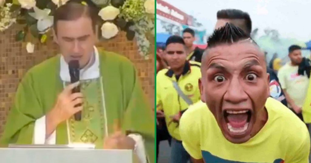 América sacerdote-pide-a-los-aficionados-corregirse