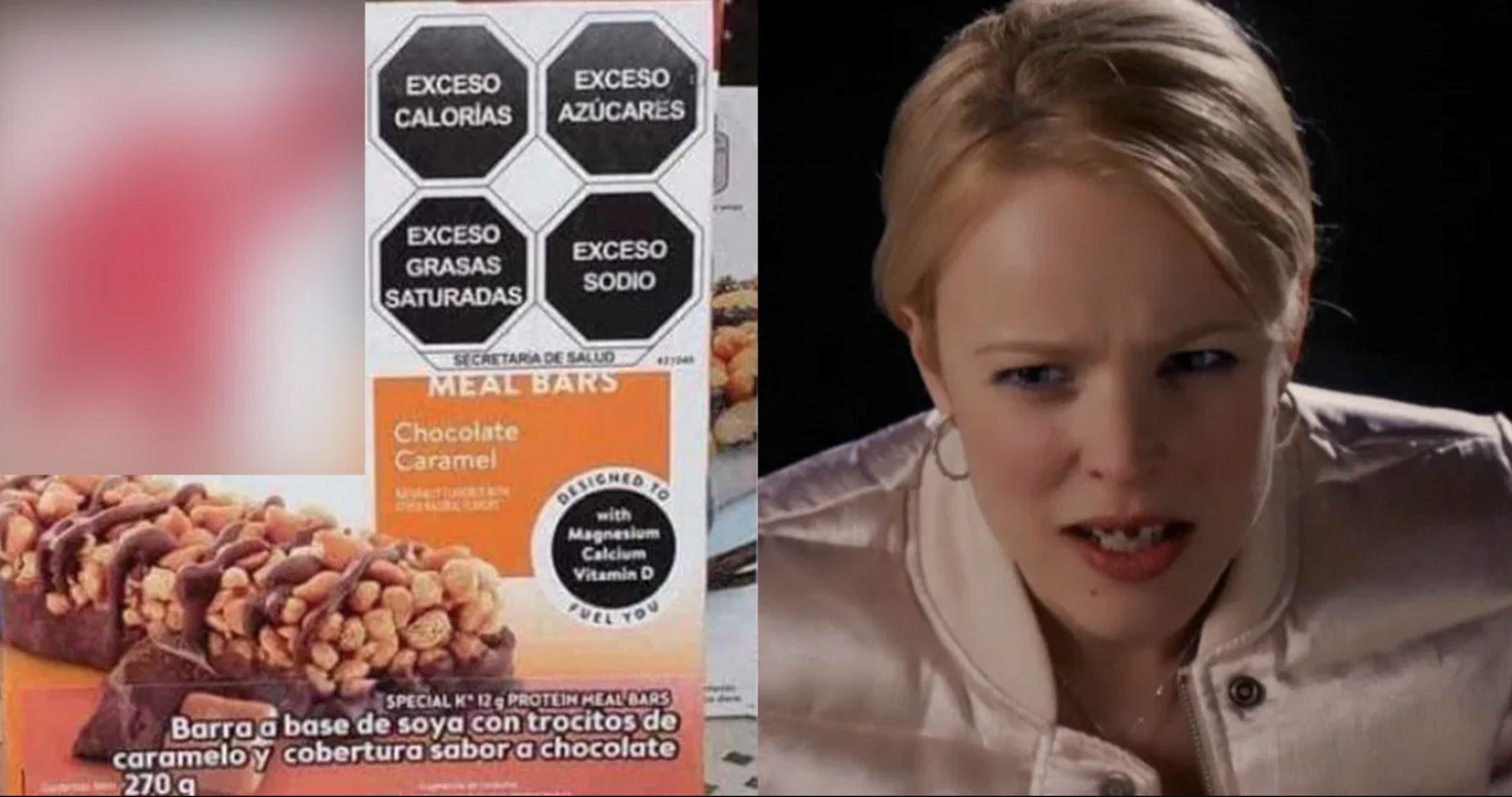 etiquetado alimentos meme policías