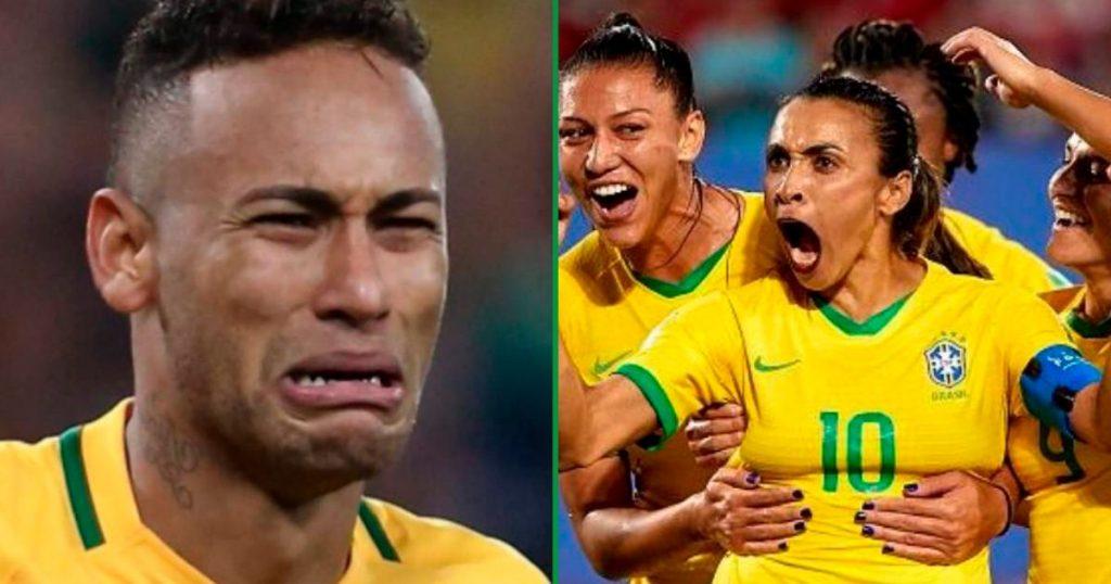 Brasil selección de futbol hombres mujeres
