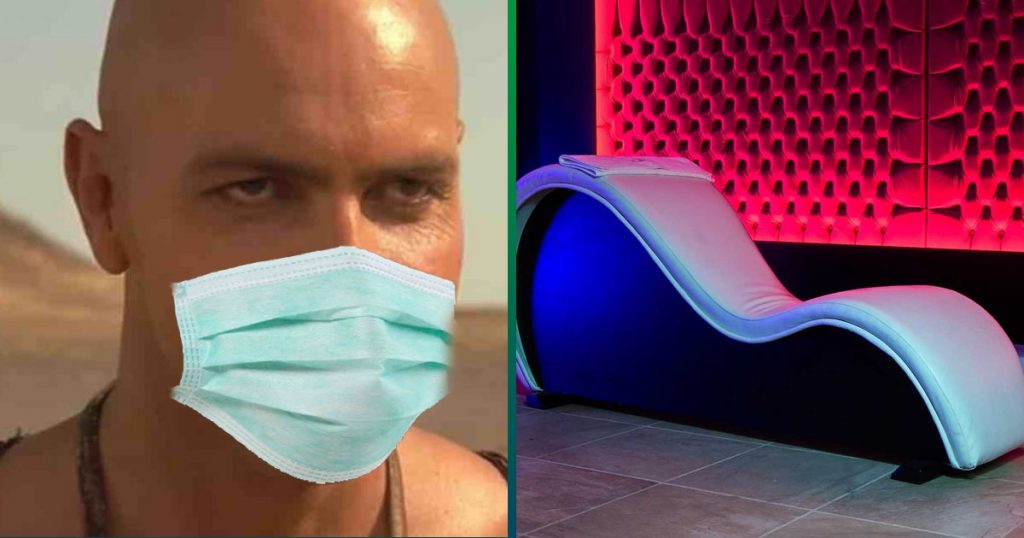 Nueva normalidad: doctora pide que el delicioso se haga sin besos y con cubrebocas