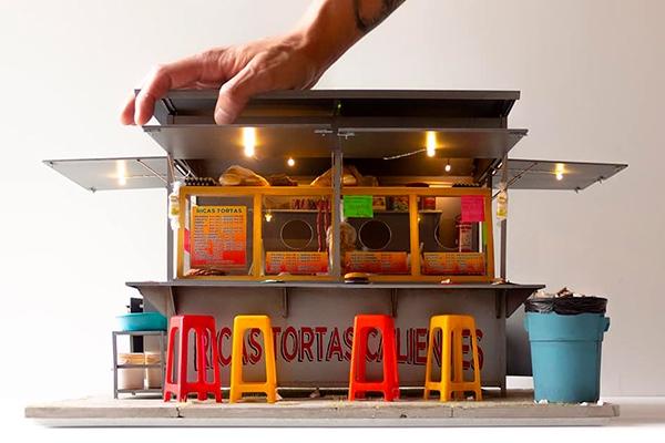 miniatura artista-recrea-puestos-mexicanos