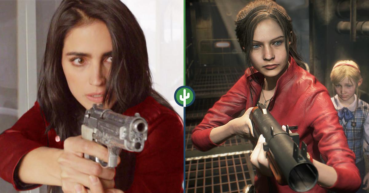 Bárbara de Regil Claire Redfield Resident Evil