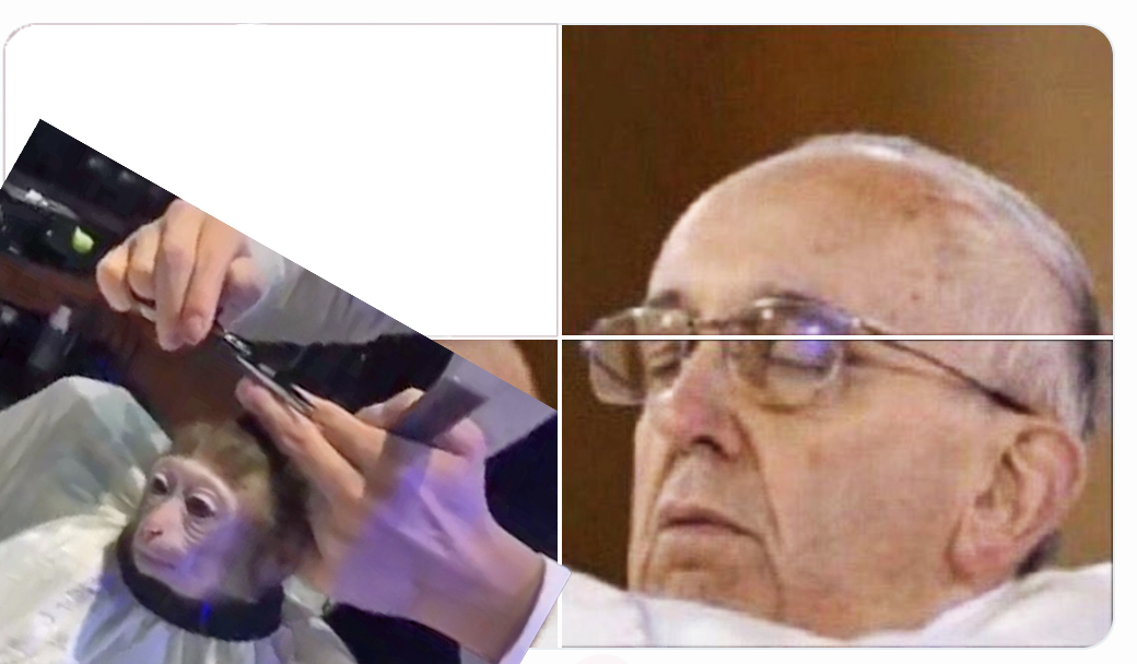 Changuito Papa Francisco Meme Hostia