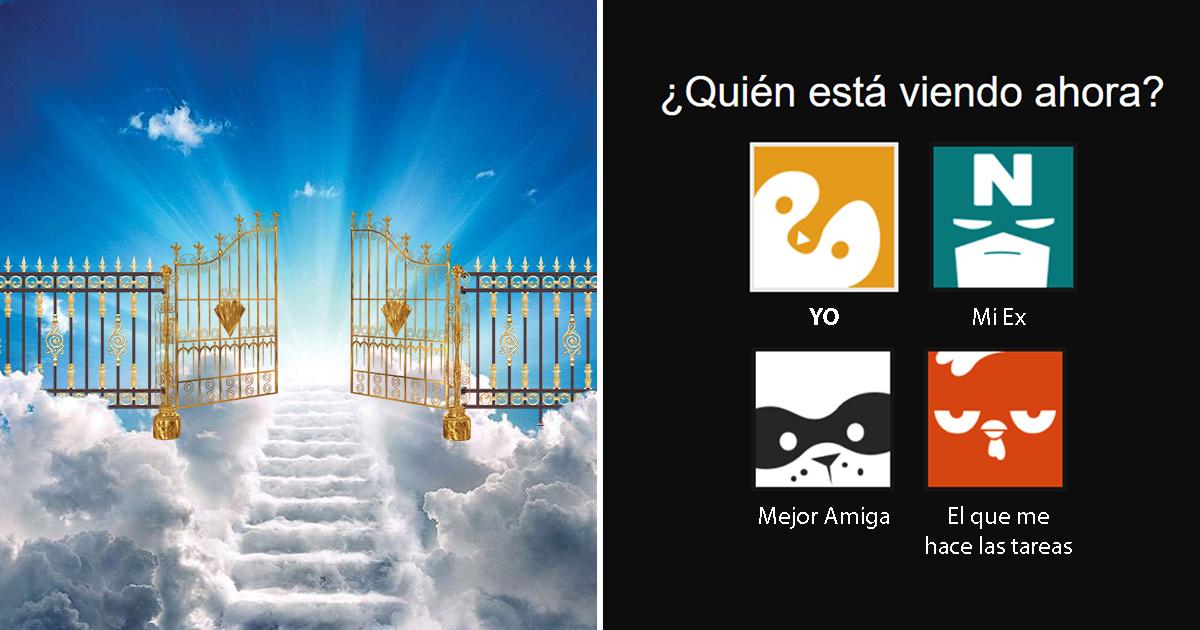 Cover Cuenta Netflix Puertas Cielo San Pedro