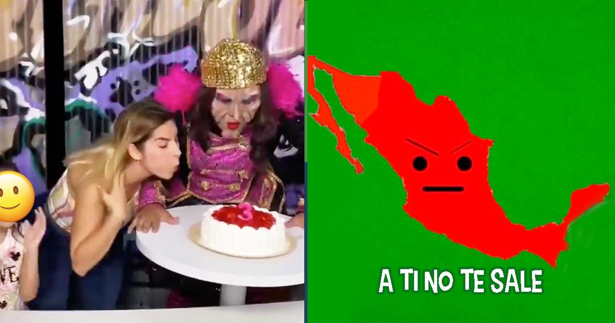 Cover Karla Panini TikTok Pastel Niña Velas