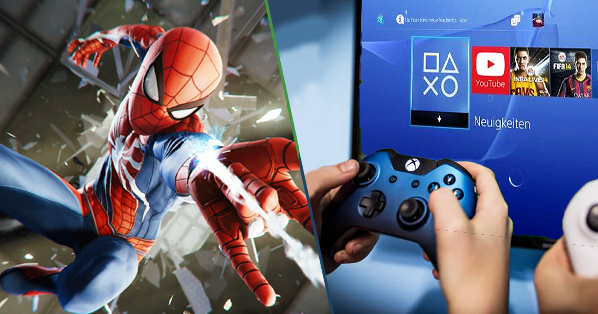 Cover Xbox Spider-Man PlayStation