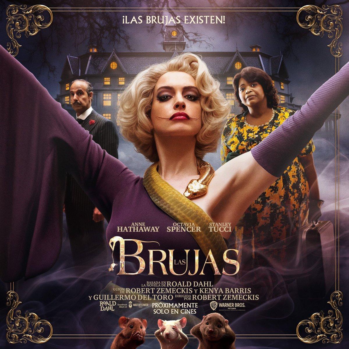 Las Brujas Anne Hathaway Poster