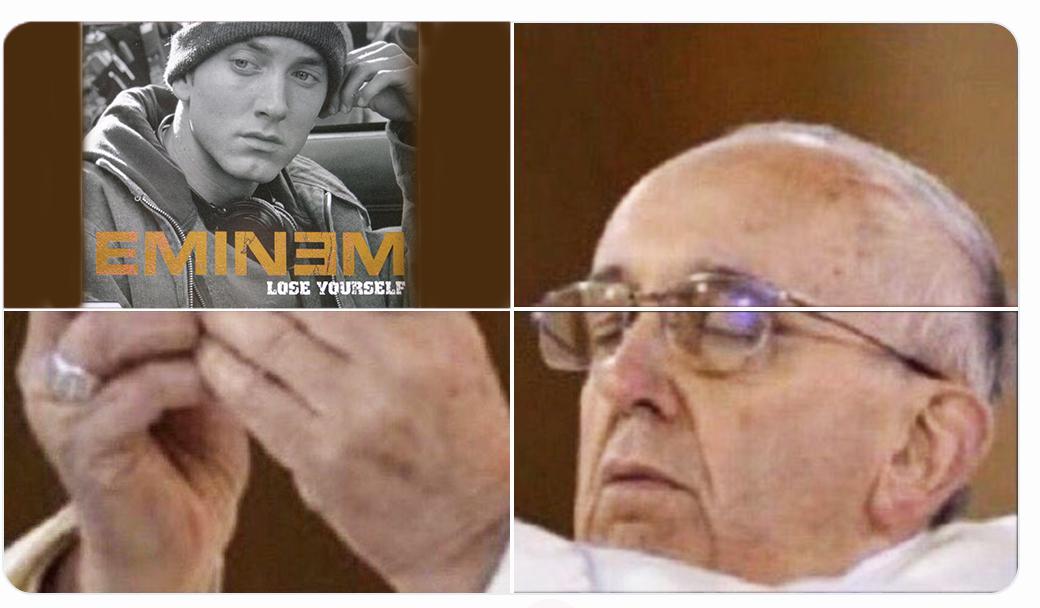Eminem Lose Yourself Meme Hostia