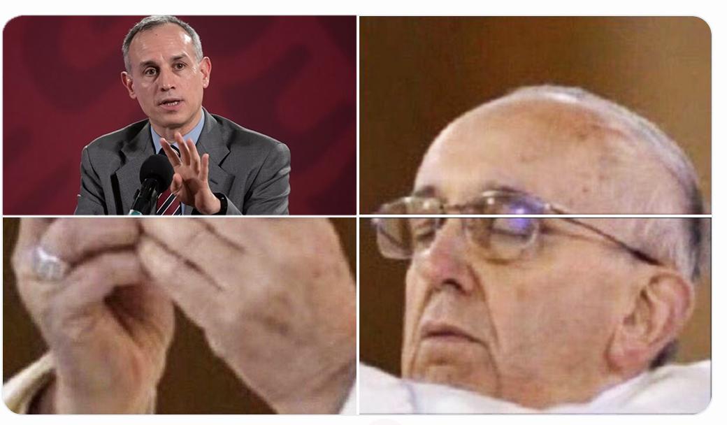 Hugo López-Gatell Papa Meme