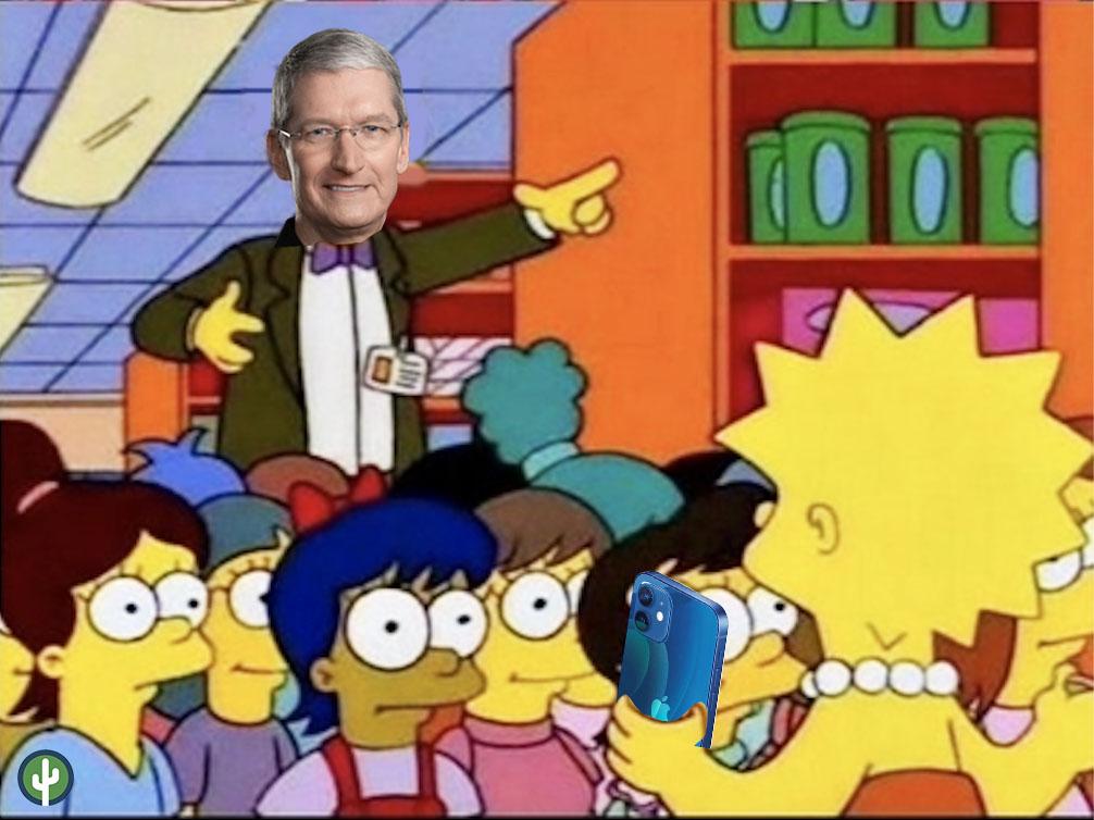 Iphone 12 Tim Cook meme