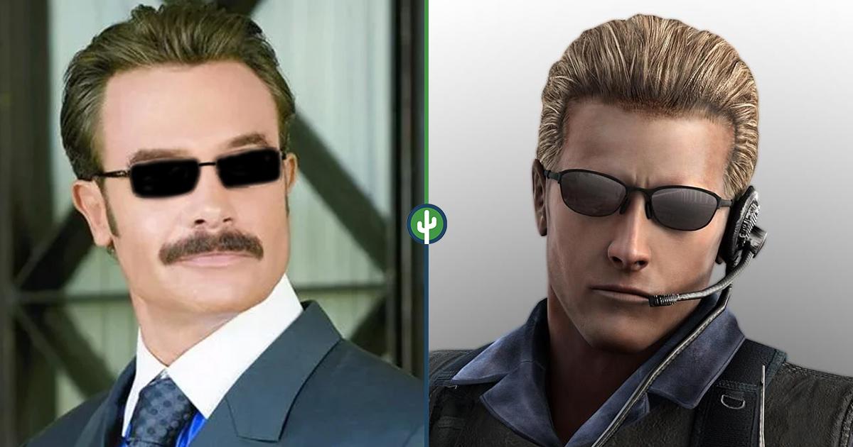 Sergio Sendel Albert Wesker Resident Evil
