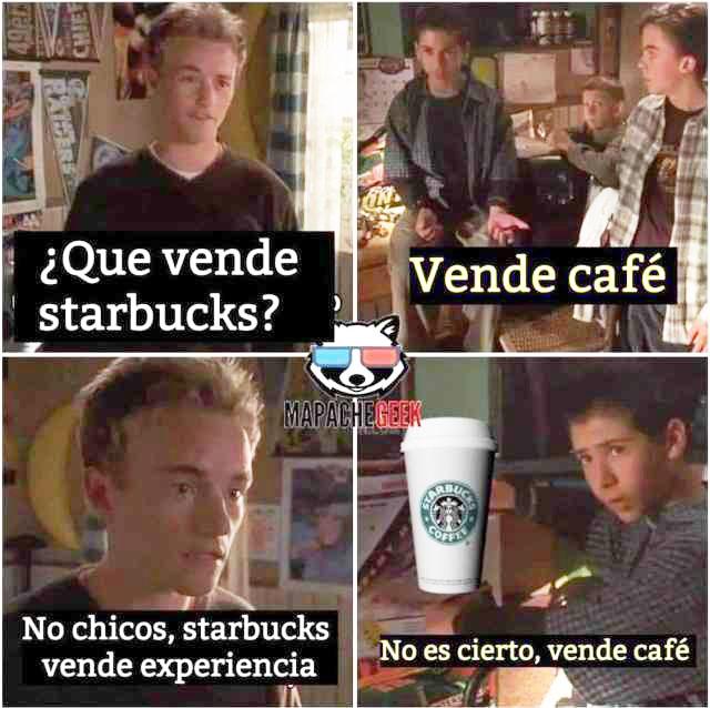 Starbucks experiencia meme