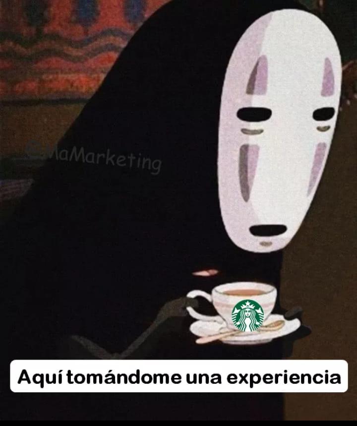 Starbucks vende experiencias meme