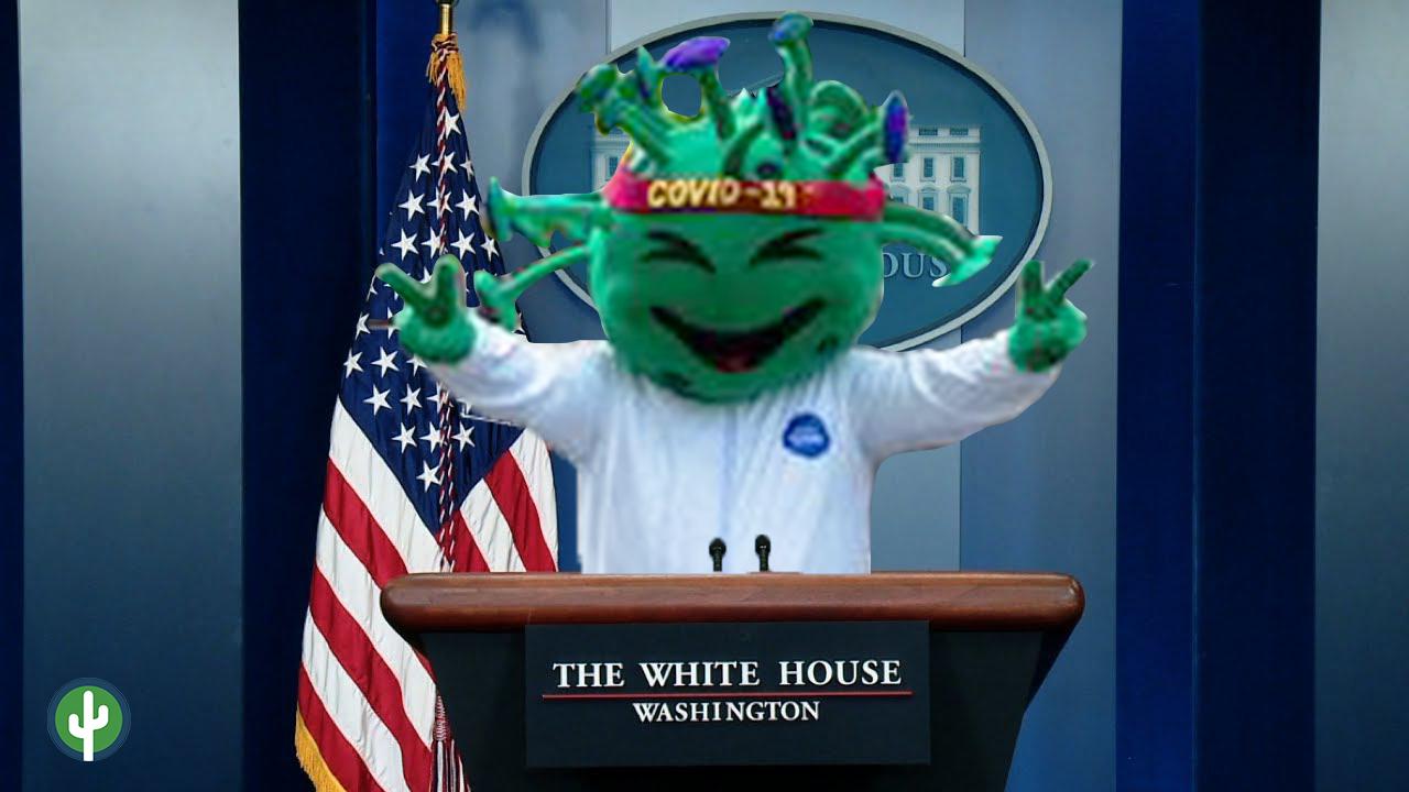 Trump Covid Coronavirus Casa Blanca
