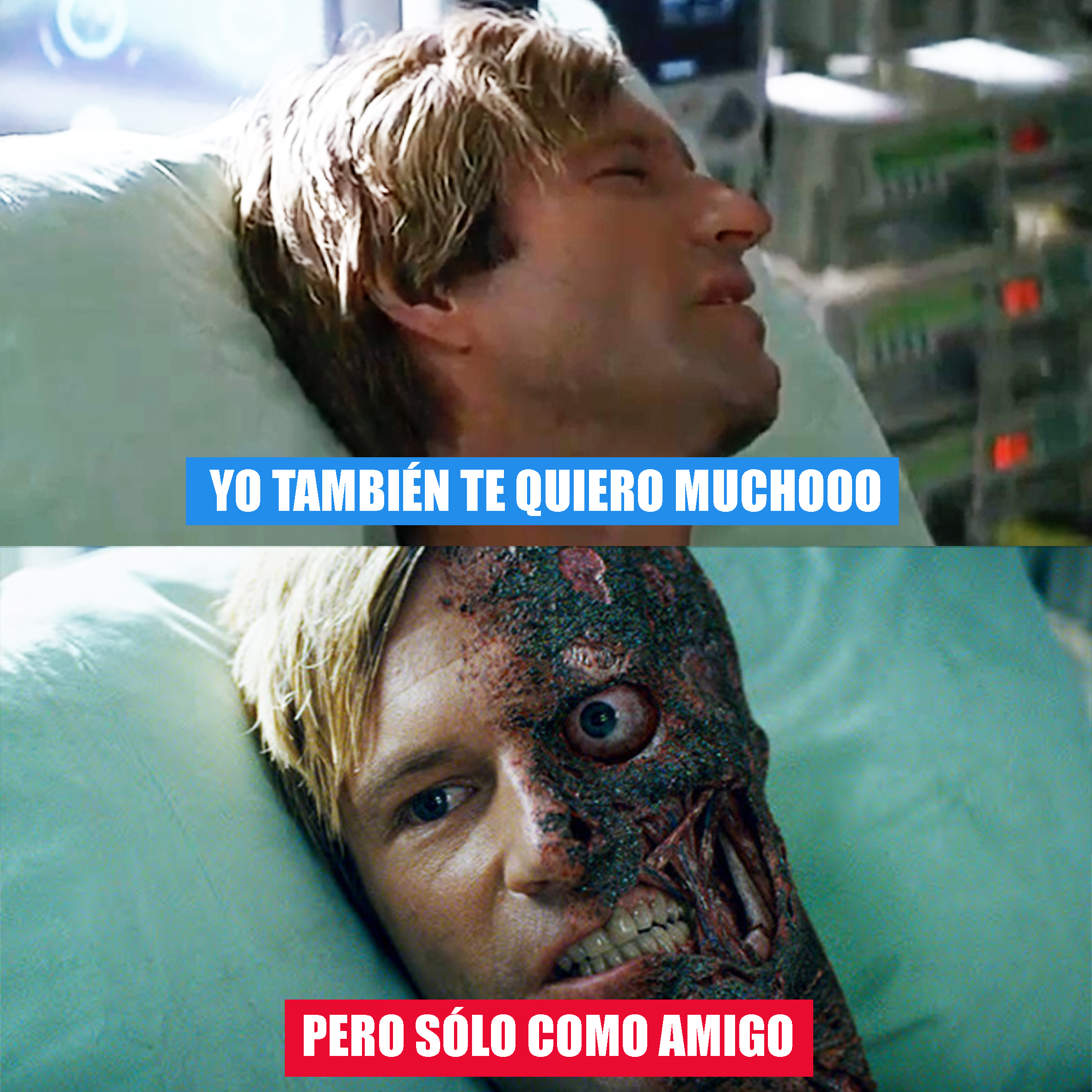 Verdades Sólo Amigos Harvey Dent Meme