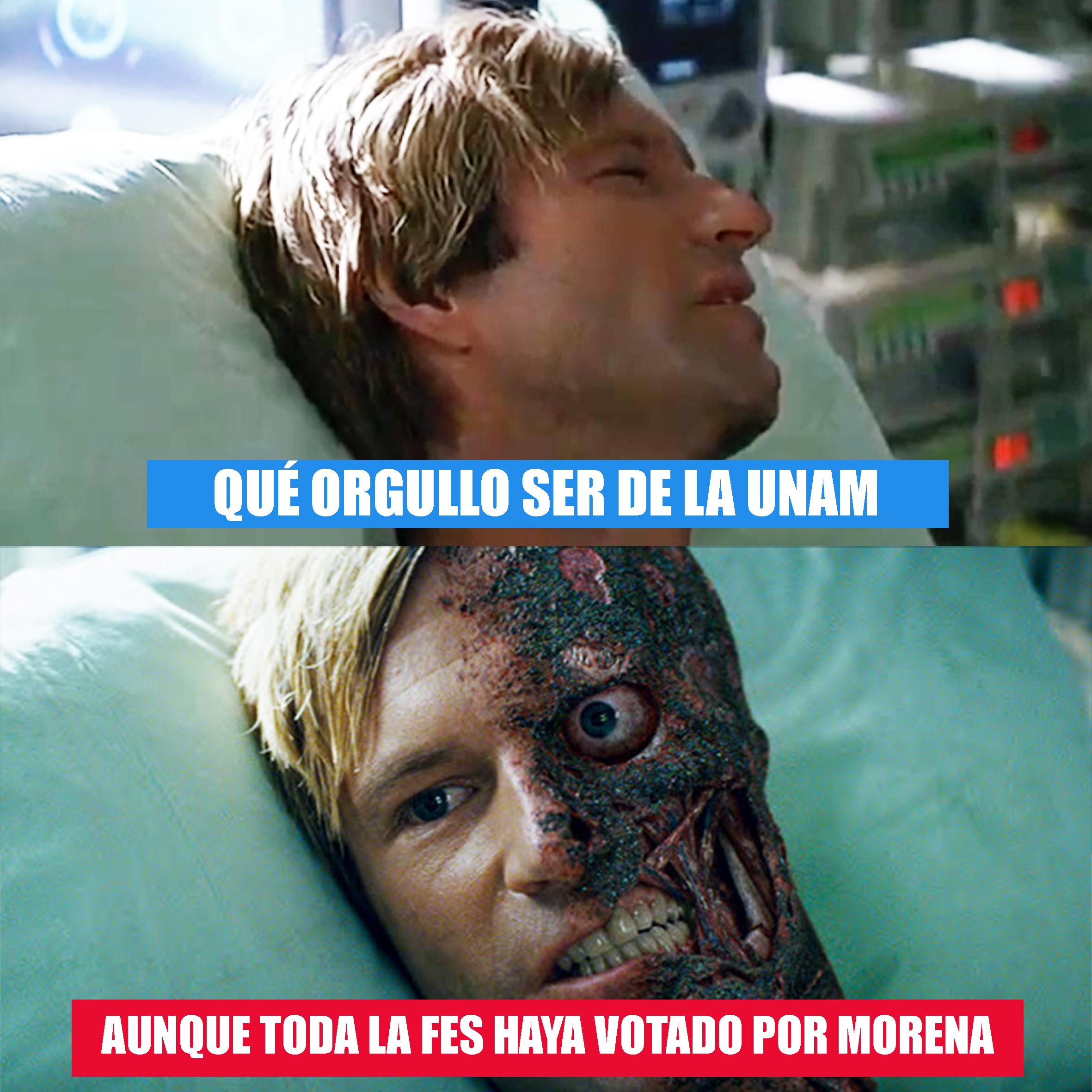 Verdades UNAM Harvey Meme