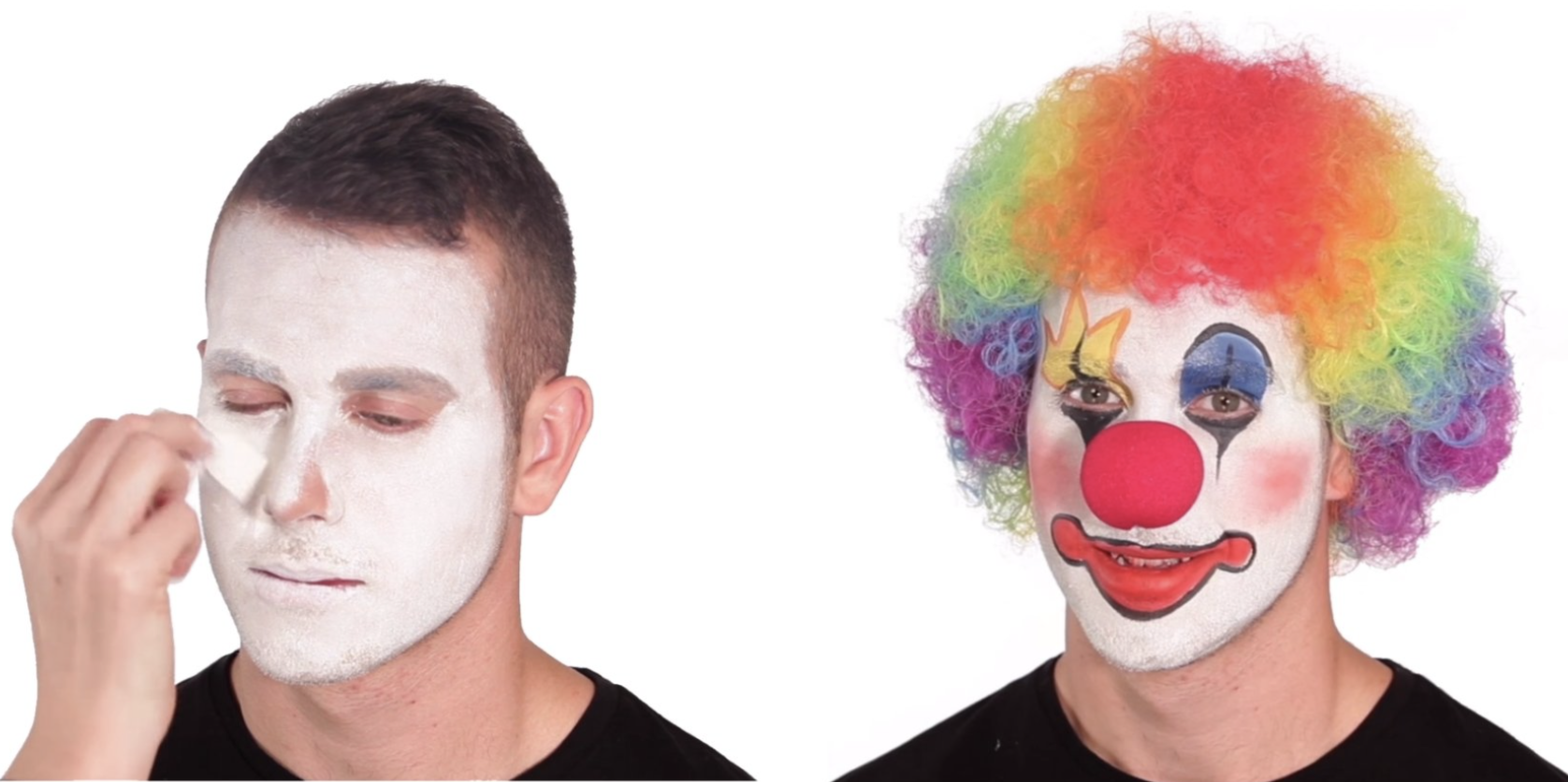 clown makeup meme