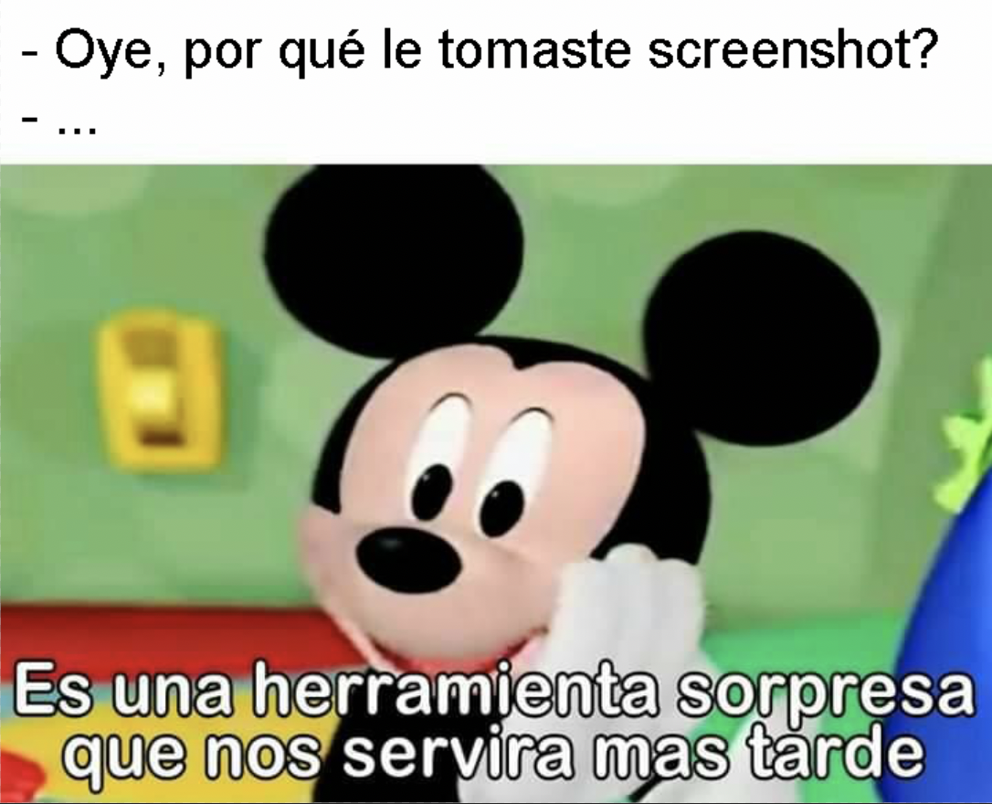 screenshots mickey meme