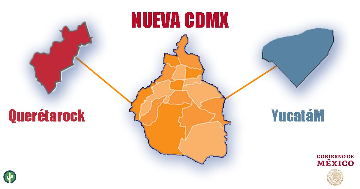 CDMX Quéretaro Yucatán Mérida