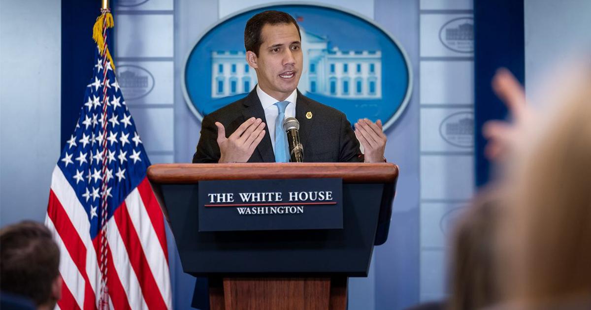 Cover Juan Guaidó Presidente Estados Unidos Elecciones 2020