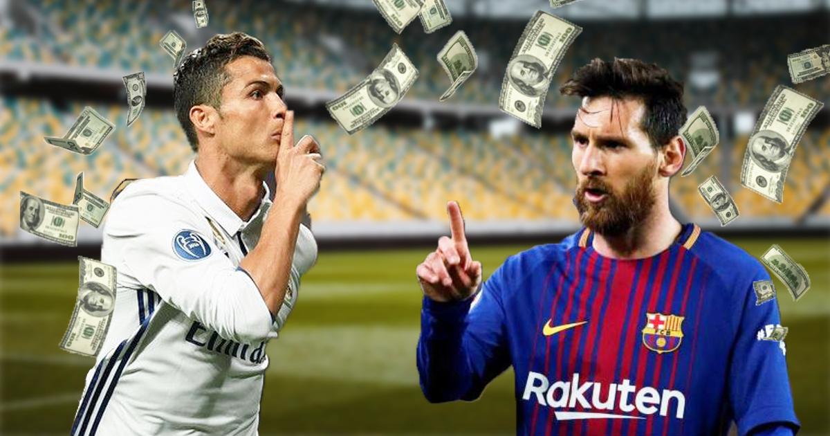 Cover Messi Cristiano Ronaldo Sueldo