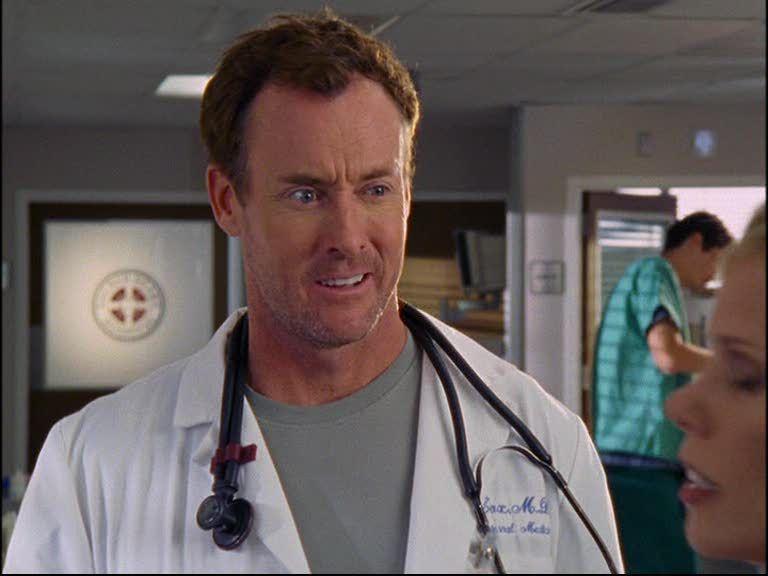 Doctor Cox Scrubs pandemials