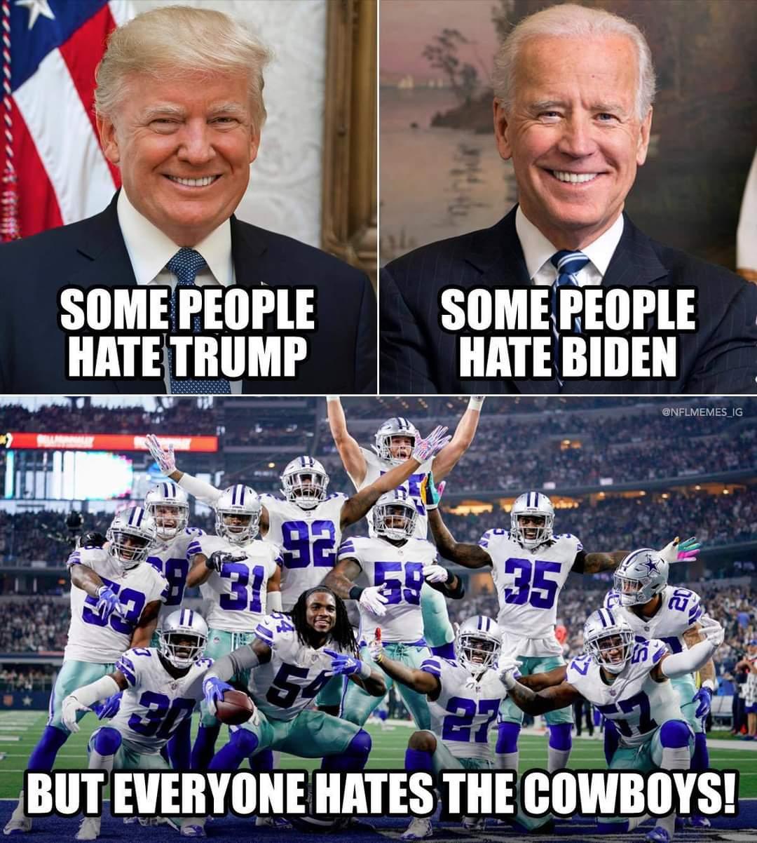 Trump Biden Cowboys Meme