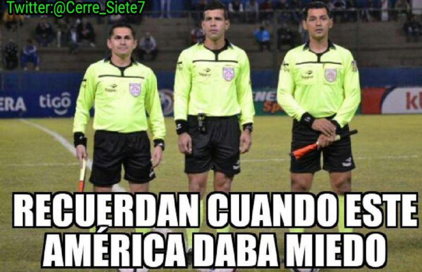 américa árbitros