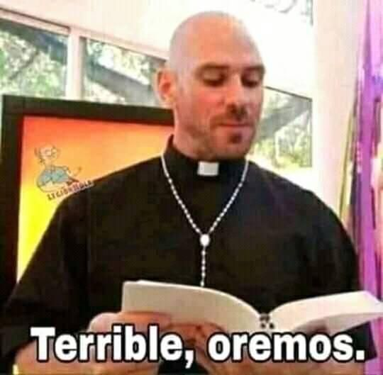 terrible oremos