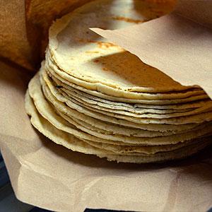 La tortilla se usa para…