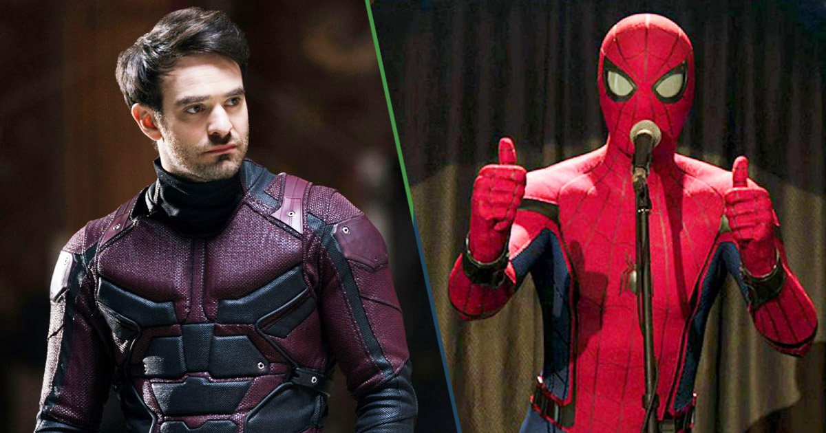 Cover Spider-Man 3 Charlie Cox Daredevil