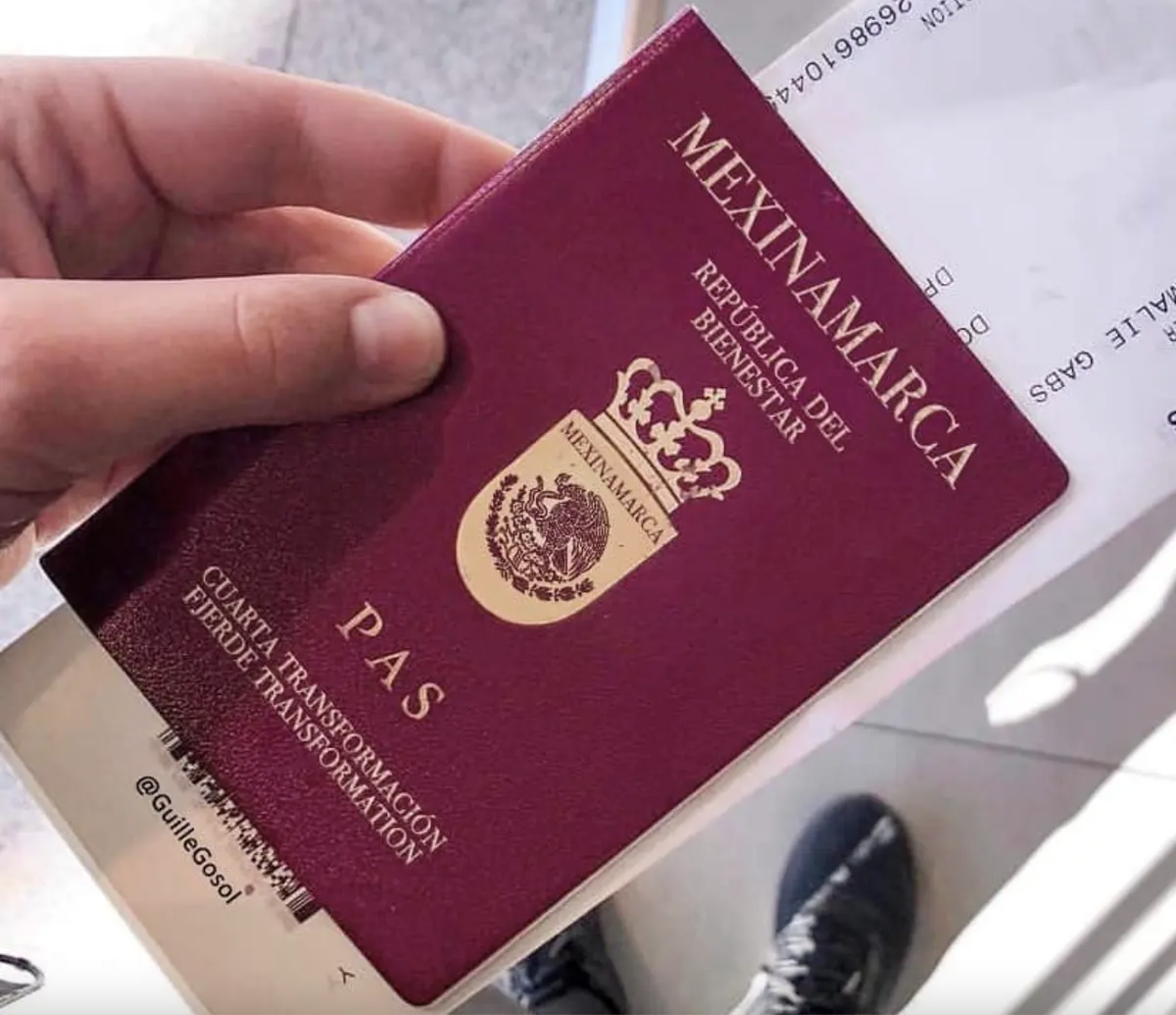 dinamarca méxico pasaporte