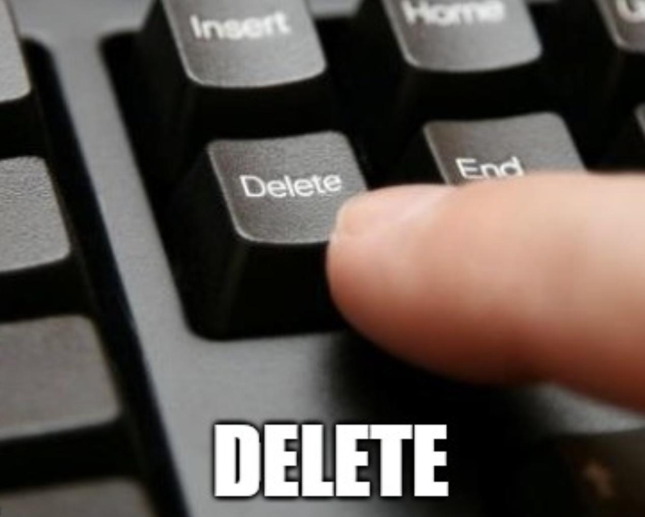 meme delete keyboard