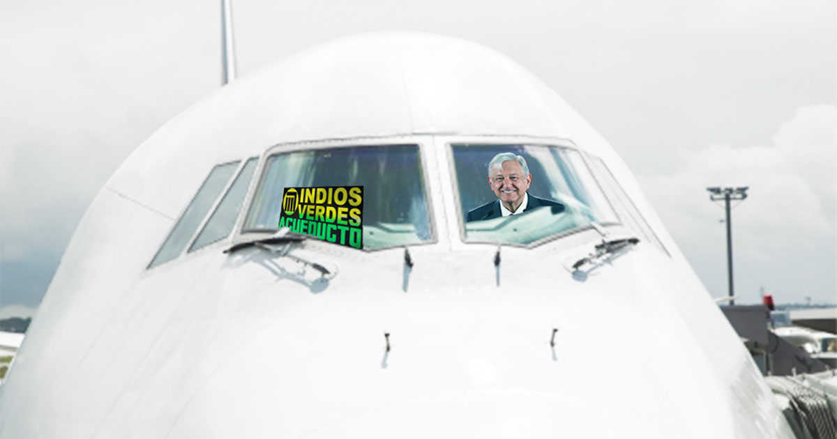 Cover AMLO Metro Avión Presidencial