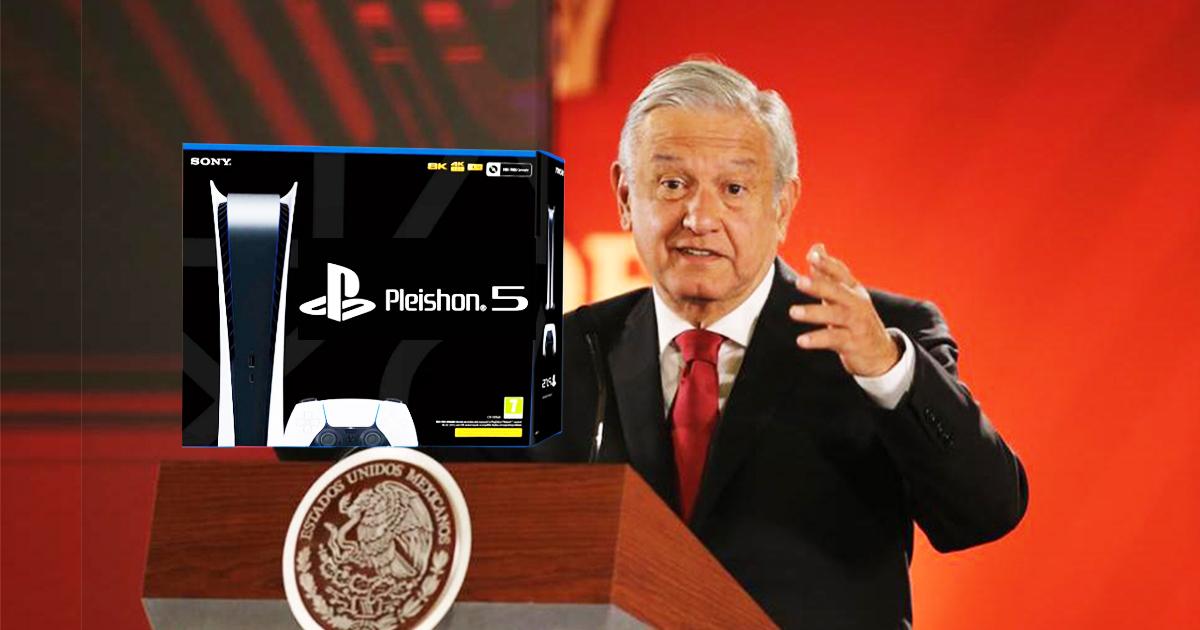 Cover AMLO Sony Playstation 5 Pleishon
