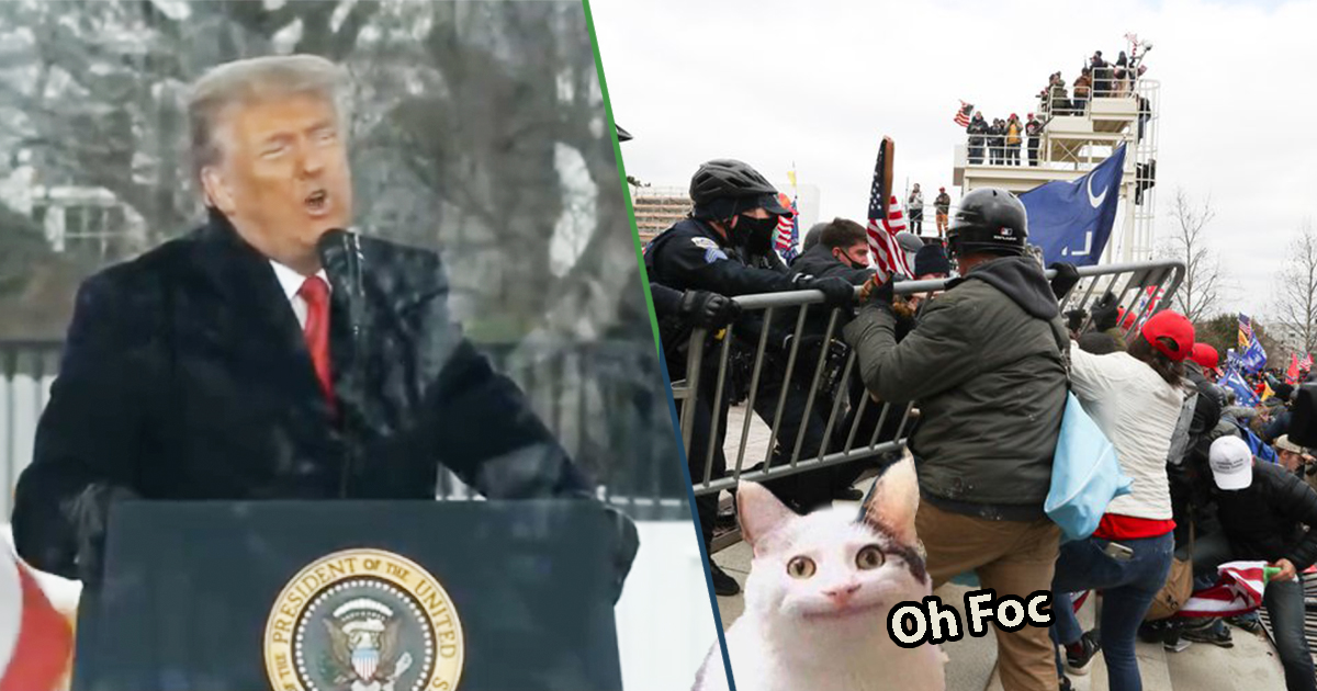 Cover Donald Trump Capitolio