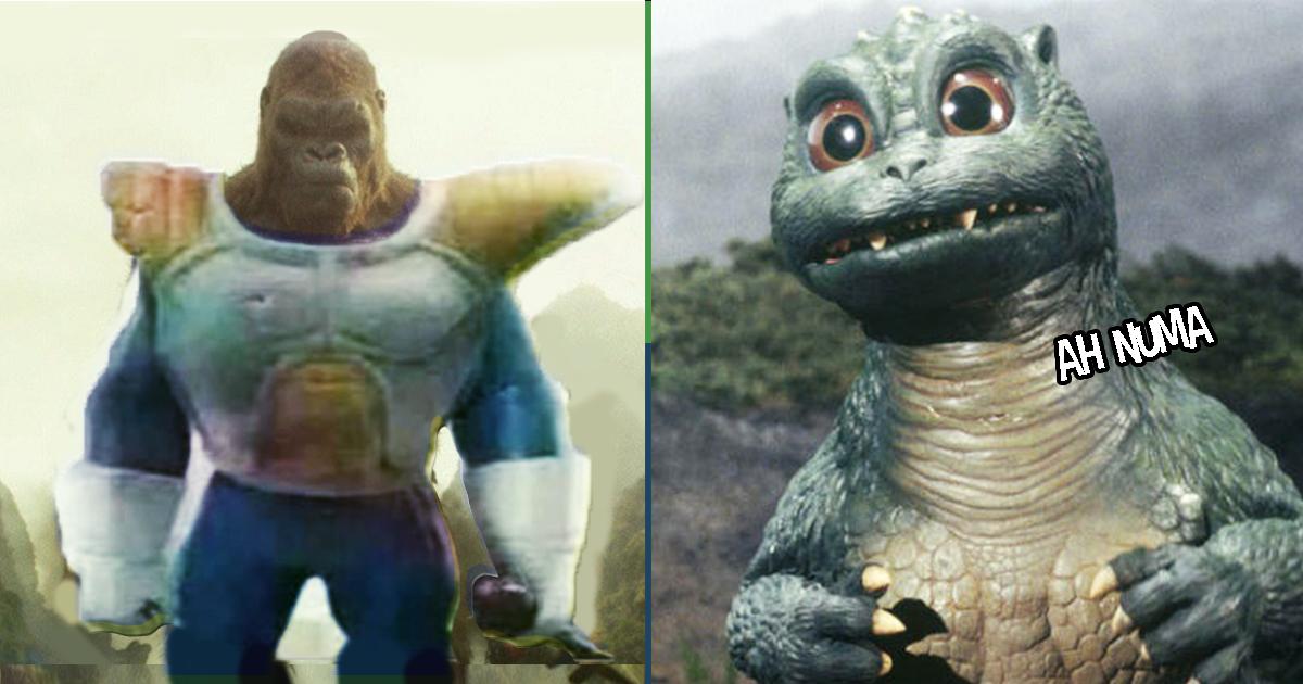 Cover Listado King Kong vs Godzilla