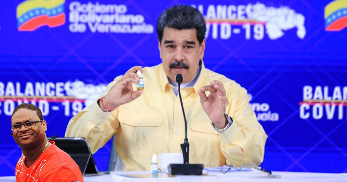 Cover Nicolás Maduro Covid-19 Medicina