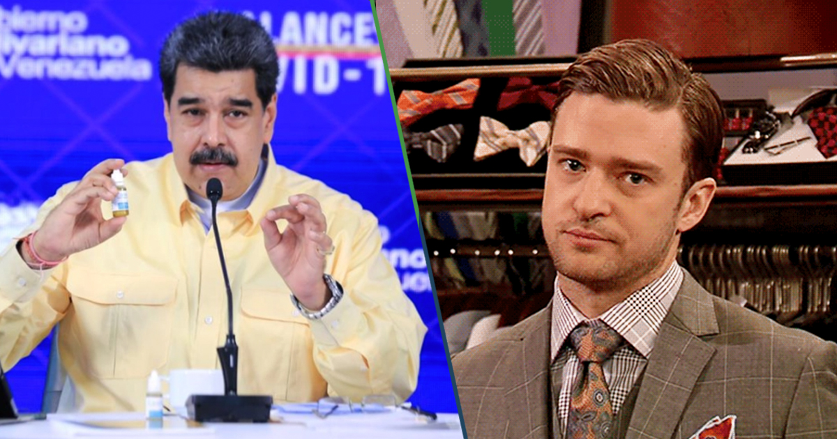 Cover Nicolas Maduro Gotas Covid 19