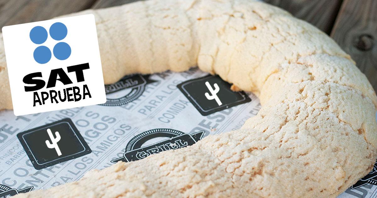 Cover Rosca de Reyes Azúcar SAT Impuestos