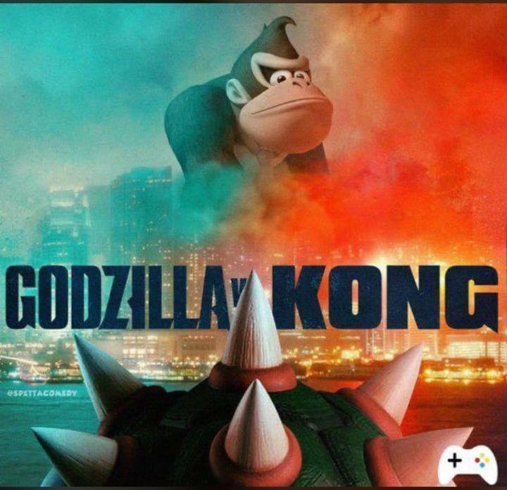 Diddy Kong bowser meme