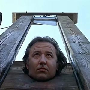 Una guillotina, porque seguro eres inmortal y eras un niño mimado de la realeza
