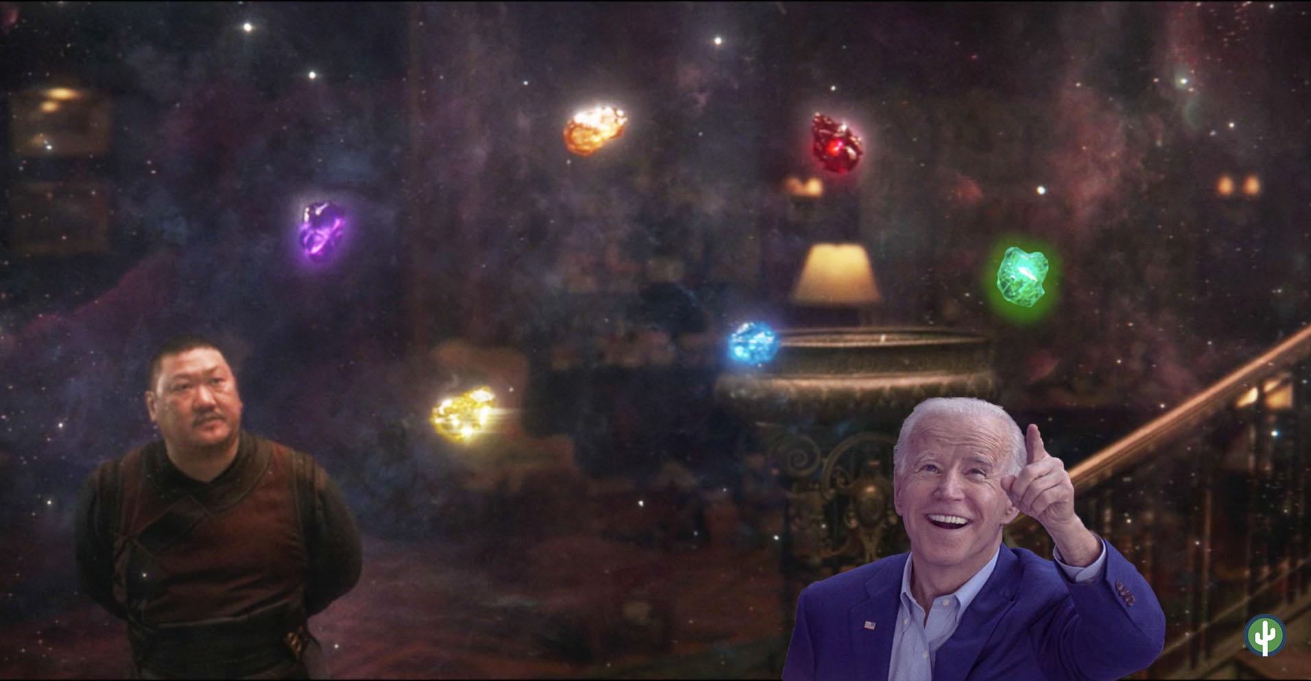 Joe Biden Infinity Stones