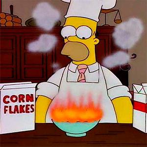 Cuando cocinas se te queman hasta los tuétanos